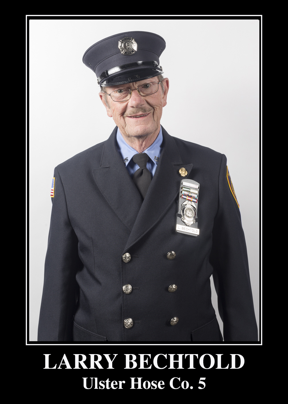 Fire Police Capt. Larry Bechtold